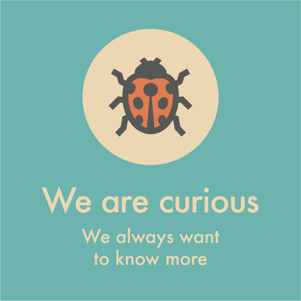 We are curious
